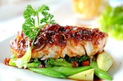 Salmon- fish is a food good for health