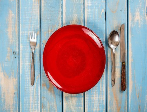 Small Red Plates