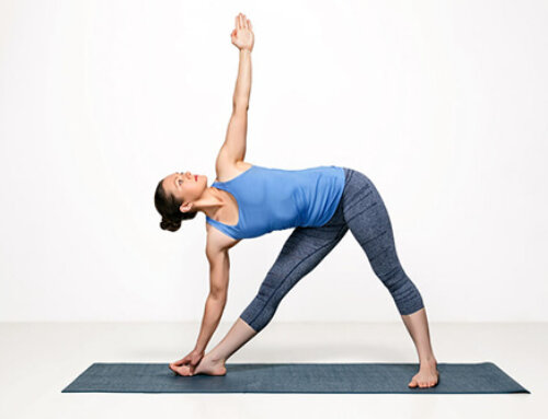 Trikonasana – (Triangle Pose)